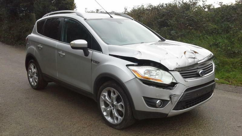 2010 ford kuga 2 0tdci titanium damaged spares or repair. Black Bedroom Furniture Sets. Home Design Ideas