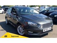 2017 Ford Focus 1.5 TDCi 120 Zetec 5dr Manual Diesel Hatchback