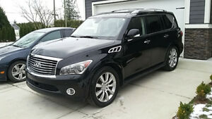 2011 Infiniti QX56 tech package SUV, Crossover