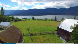 24 acre lake view in Salmon Arm