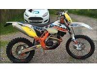 Ktm exc 500 six days 2012 genuine 22 hours from new