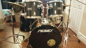 Peavey Drum Kit - tons of UPGRADES - Pro level Hardware Belleville Belleville Area image 1