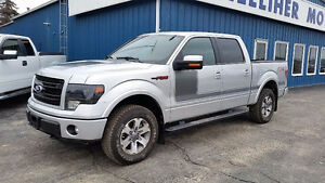 2013 Ford F-150 SuperCrew FX4 Luxury W/ Appearance Pkg