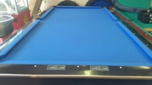 USED BLACK CROWN 1 POOL TABLES ONLY $1899 INSTALLED