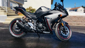 2016 Yamaha YZF-R3 with 4 years Warranty for sale!