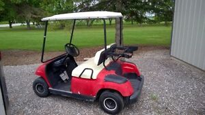 SOLD.....2000 Yamaha Gas golf cart $1800 O.B.O