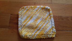 Knitted Cotton Cloths (Bundle of three)