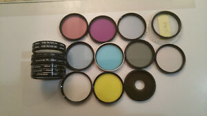 49 mm various lens filters