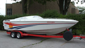 1995 24ft Baja Outlaw SST 454 MAG Fuel injected