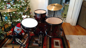 Kids/Beginners drum set - complete with everything you'll need