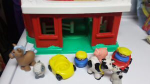 Ferme fisher price et animaux