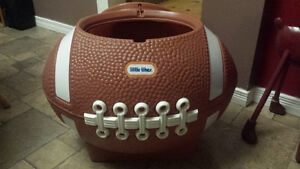 Vintage Little Tikes Football Toy Box