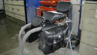 Saddle Bags, Drivers Back Rest, Pass Seat/ Back Rest