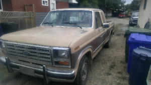 1986 ford F-150 REDUCED