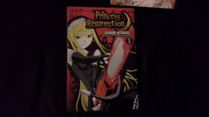 Princess Resurrection Manga illustrated book