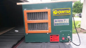 Craftex Air Filtration System, Dust Collector