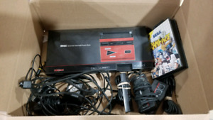 Sega Master System with 3 Controllers and Rampage