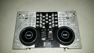 HERCULES 4-MX 4-channel DJ mixer BARELY USED