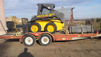 Priced Right Rentals Skidsteer and Trailer Rental