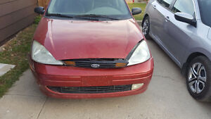 2002 Ford Focus ZTS Sedan Fixer-uper/Parts car $1,000 OBO