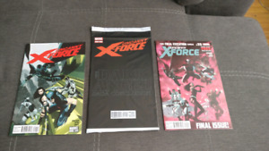 Uncanny X-Force #1, 18, 35(Last Issue)