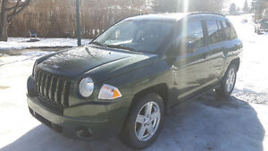 2007 Jeep Compass sport Green SUV, Crossover