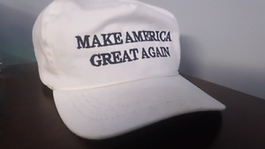Trump Make America Great Again hats bought from campaign store