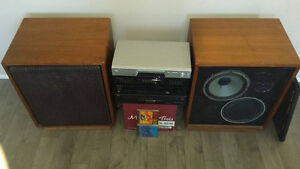 VINTAGE Pioneer High Output Amp with Huge Speakers from the 70s Kitchener / Waterloo Kitchener Area image 3