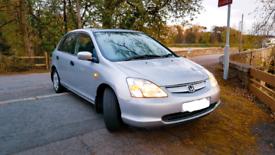 Honda Civic 1.6 petrol (48k miles)