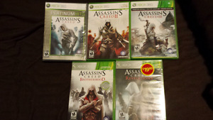 Assassins creed games for Xbox 360
