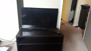 """32"""" LED Insignia TV with TV stand (+remote!)"""