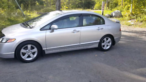Silver 2006 Honda Civic LX - 120,000 KMs - Automatic