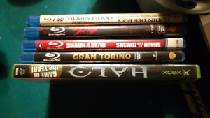 DVD's, Blue-Ray's and VHS's see pictures Windsor Region Ontario image 1
