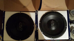 """USED Phoenix Gold QX128, 30cm (12"""") Subwoofer, 150Watts RMS***"""