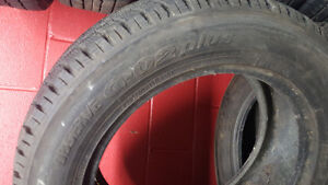 Winter tires in great condition for BMW X5 West Island Greater Montréal image 3