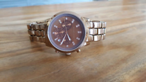 Women's  Boyfriend style Michael Kors watch