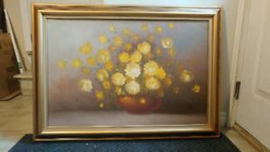 Custom 2' × 3' oil painting