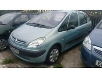 2002(02) CITROEN XSARA PICASSO 1.6i MANUAL MPV PEOPLE CARRIER