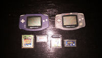 GAMEBOY ADVANCE + GAMES + PSP
