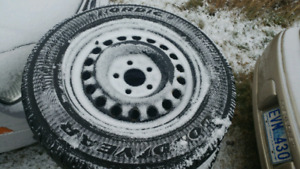 225 /65/r16 mud and snow tires with rims