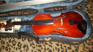 otto joseph klier violin 1988 hand made in West Germany size 3/4