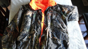 Camouflage Outdoor Jacket with hood
