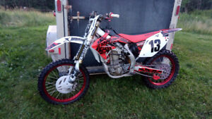 CRF 450 in excellent shape