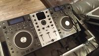 Magnifique DJ NUMARK, MIX DECK système avec case
