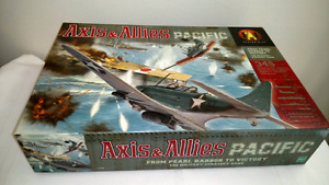Axis and Allies Pacific Board Game Complete except Dice