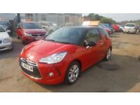 2011 Citroen DS3 Hatch 3Dr 1.6HDi 16V 90 DPF EU5 DStyle Diesel red Manual