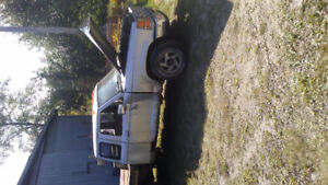 1990 Ford Ranger with Mercedes turbo diesel