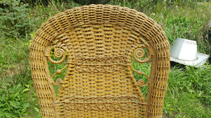 Victorian Rattan Chair by Gendron MFG Kingston Kingston Area image 2