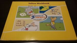 Hooked on Phonics Yellow Workbook Learn to Read Educational Book