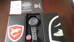New in box Shark men's watch